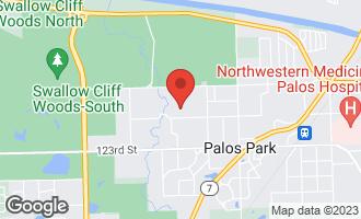 Map of 12035 South 90th Avenue PALOS PARK, IL 60464