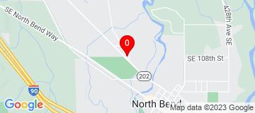Google Map of 1204 Bendigo Blvd N North Bend WA 98045