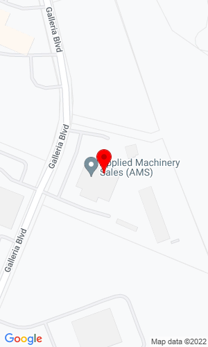 Google Map of Applied Machinery Sales (AMS) 1205 Galleria Blvd., Rock Hill, SC, 29730