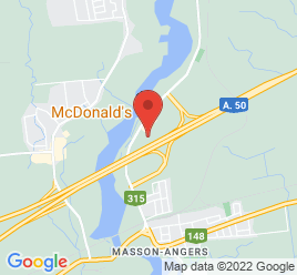 Google Map of 1205+Rue+Odile+Daoust%2CGatineau%2CQuebec+J8M+1Y7