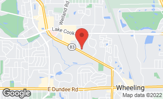 Map of 1205 Cypress Drive #1205 WHEELING, IL 60090