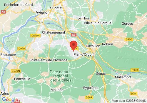 Localisation de RICAUD PROVENCE