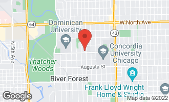 Map of 1206 Lathrop Avenue RIVER FOREST, IL 60305