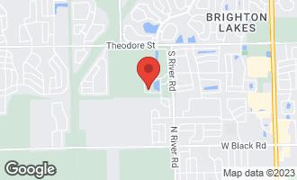 Map of 1207 Betty Drive PLAINFIELD, IL 60586