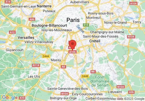 Localisation de Paris Herbes