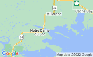 Map of Panorama Camp - Lake Nipissing Cottages& Trailers