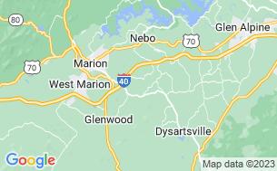 Map of Hidden Creek Camping Resort