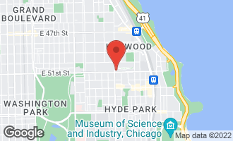 Map of 1210 East Hyde Park Boulevard G CHICAGO, IL 60615
