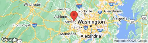 Map of 12100 WALNUT BRANCH ROAD RESTON, VA 20194