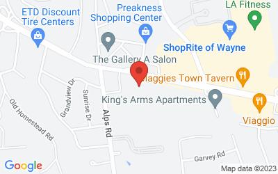 Map of Wayne, NJ (Ground Floor)