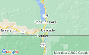 Map of Cascade Cove RV Park