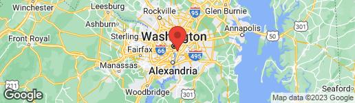 Map of 1211 VAN STREET SE #1207 WASHINGTON, DC 20003