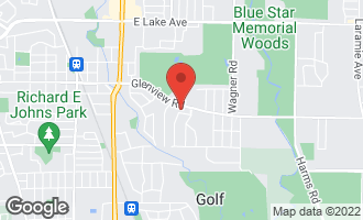 Map of 1212 Westview Road GLENVIEW, IL 60025