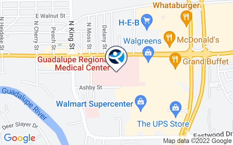 Guadalupe Regional Medical Center Location and Directions