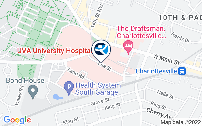 University of Virginia Medical Center Location and Directions