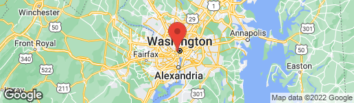 Map of 1215 29TH STREET NW WASHINGTON, DC 20007