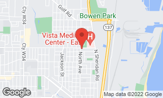 Map of 1217 North Avenue WAUKEGAN, IL 60085