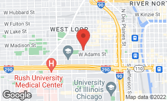 Map of 1217 West Monroe Street #2 CHICAGO, IL 60607