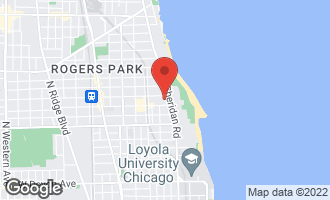 Map of 1219 West Lunt Avenue 3B CHICAGO, IL 60626