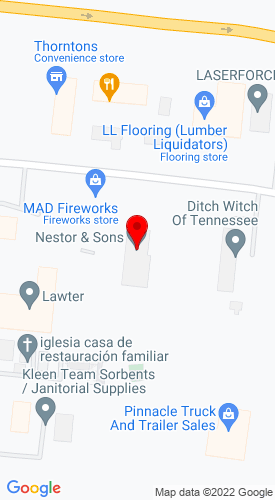 Google Map of L & L Equipment Sales  122 Charter Place, LaVergne, TN, 37086