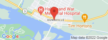 Google Map of 122+Broad+Street+East%2CDunnville%2COntario+N1A+1E9