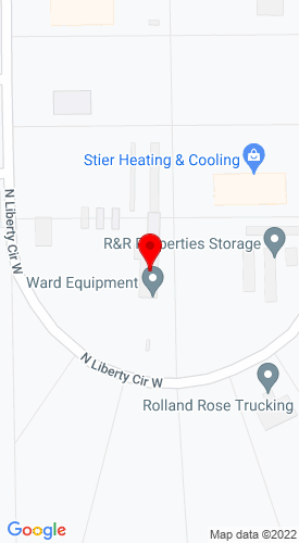 Google Map of Ward Equipment 1220 N Liberty Circle, Greensburg, IN, 47240