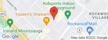 Google Map of 1220+Eglington+Avenue+East%2CMississauga%2COntario+L4W+2M7