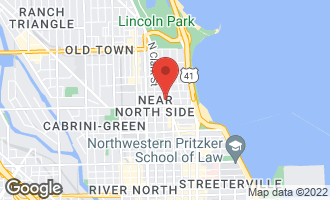 Map of 1221 North Dearborn Street 1204S CHICAGO, IL 60610