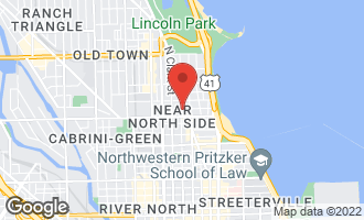 Map of 1221 North Dearborn Street PH8 CHICAGO, IL 60610