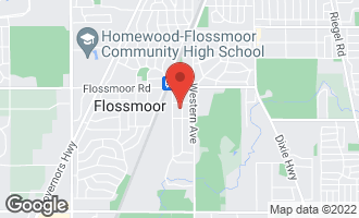Map of 1222 Brassie Avenue FLOSSMOOR, IL 60422