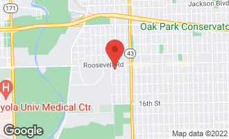 Map of 1223 Circle Avenue FOREST PARK, IL 60130