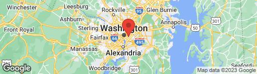 Map of 1223 CONSTITUTION AVENUE NE WASHINGTON, DC 20002