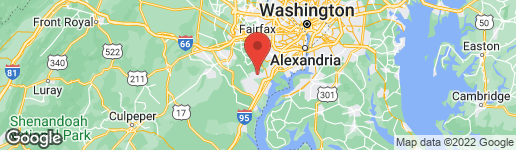 Map of 12240 PRINCETON STREET WOODBRIDGE, VA 22192