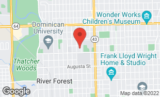 Map of 1226 William Street RIVER FOREST, IL 60305