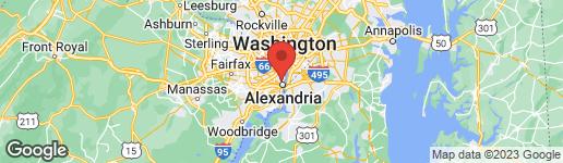 Map of 1228 MAIN LINE BOULEVARD #102 ALEXANDRIA, VA 22301