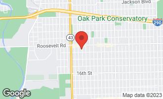 Map of 1228 Wenonah Avenue BERWYN, IL 60402