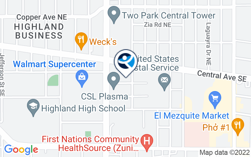 Albuquerque Treatment Services Location and Directions