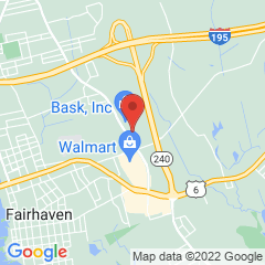Map marking location of Fairhaven branch