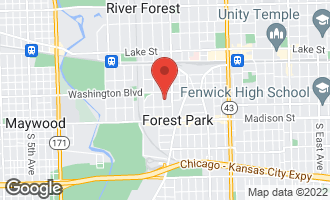 Map of 123 Ashland Avenue RIVER FOREST, IL 60305