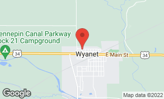 Map of 123 West North Street WYANET, IL 61379