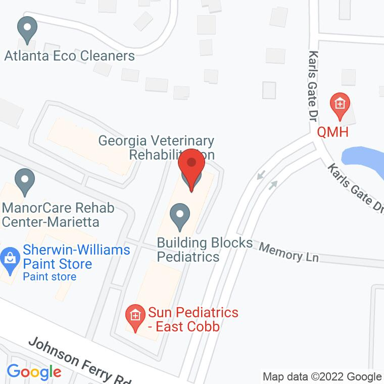 Google Map of 1230 Johnson Ferry Place Suite J-70, Marietta, GA 30068, 1230 Johnson Ferry Place Suite J-70, Marietta, GA 30068
