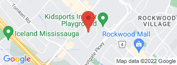 Google Map of 1230+Crestlawn+Drive%2CMississauga%2COntario+L4W+1A6