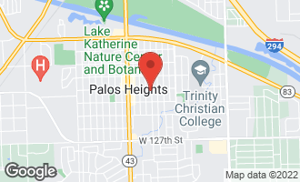 Map of 12300 South 70th Avenue PALOS HEIGHTS, IL 60463