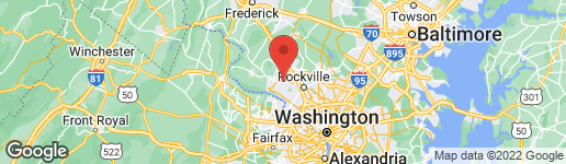 Map of 12306 TURLEY DRIVE GAITHERSBURG, MD 20878