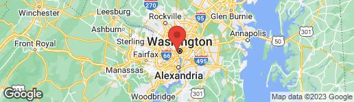 Map of 1231 30TH STREET NW WASHINGTON, DC 20007