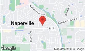 Map of 1232 Catalpa Lane NAPERVILLE, IL 60540