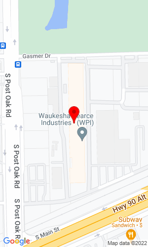 Google Map of Waukesha-Pearce Industries 12320 S  Main Street, Houston, TX, 77035