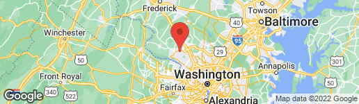 Map of 12340 SOUR CHERRY WAY #101 NORTH POTOMAC, MD 20878