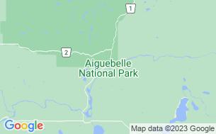 Map of Camping Parc National D'aiguebelle Abijévis Secteur Mont-Brun