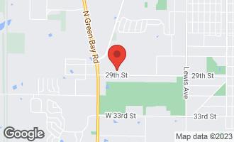 Map of 12380 West Pine Court BEACH PARK, IL 60099